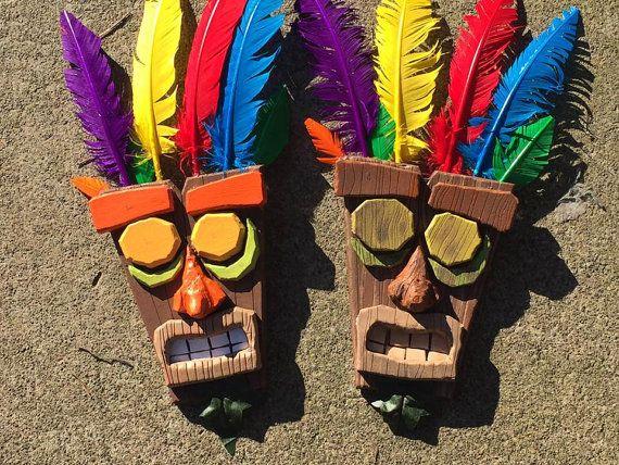 Aku Aku Mask Crash Bandicoot by ClutteredDeskCrafts on ...