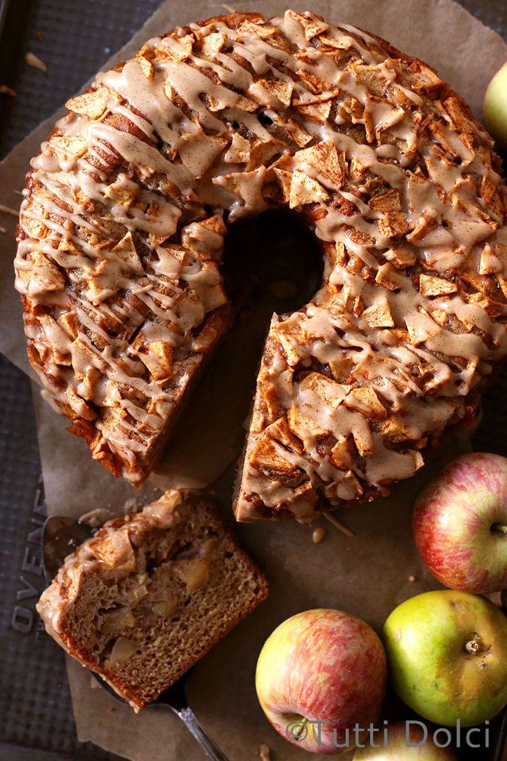 fresh apple cake @tuttidolci