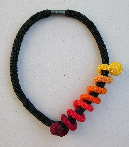 kumihimo necklace - love this!