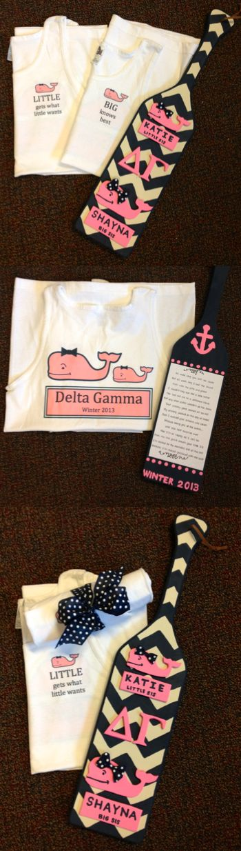 My little is famous :) Best paddle and big little shirt I could have ever gotten!!!