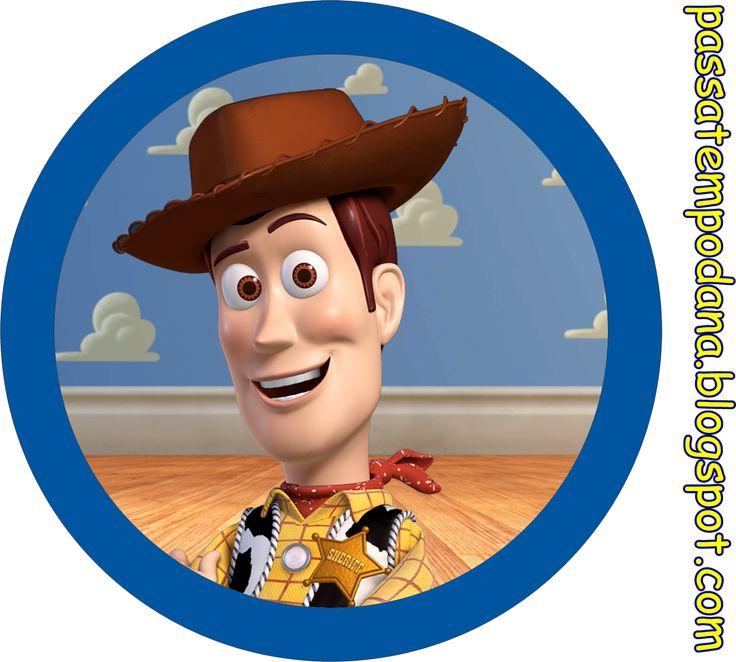 Toy Story: Invitaciones y Etiquetas para Candy Bar para Imprimir Gratis.