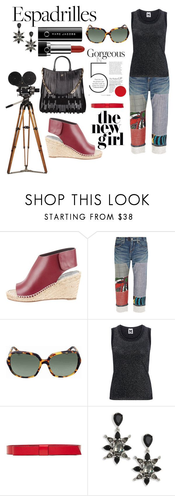 """IT'S ALMOST FRIDAY!"" by tinagarrison ❤ liked on Polyvore featuring CÉLINE, Junya Watanabe, CH Carolina Herrera, Ralph Lauren, M Missoni, Marni and Oscar de la Renta"