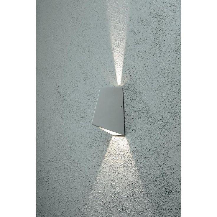 LED-Außenwandleuchte 8 W Warm-Weiß Konstsmide Imola Up & Down 7928 ...
