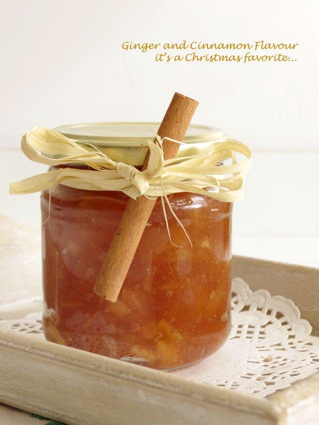 Ginger, Cinnamon & Apple Jam / Compota de Maçã, Canela e Gengibre