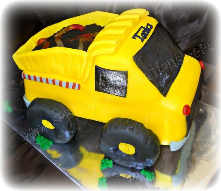 Sophias Cake Creations Tonka Truck
