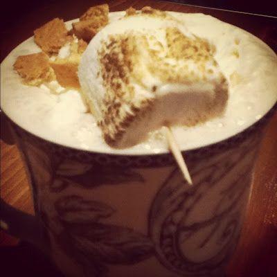 Cottage Life drink recipes: S'mores in a mug // thedailyhopeful.com - Kayla Tompkins