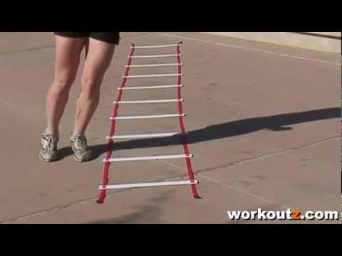 Slalom Agility Ladder Drill (Version 2)