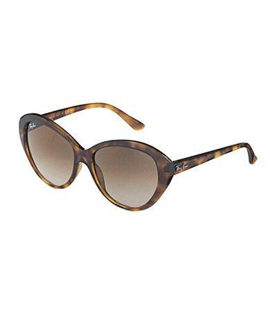 RayBan Retro Cat Eye Sunglasses Dillards