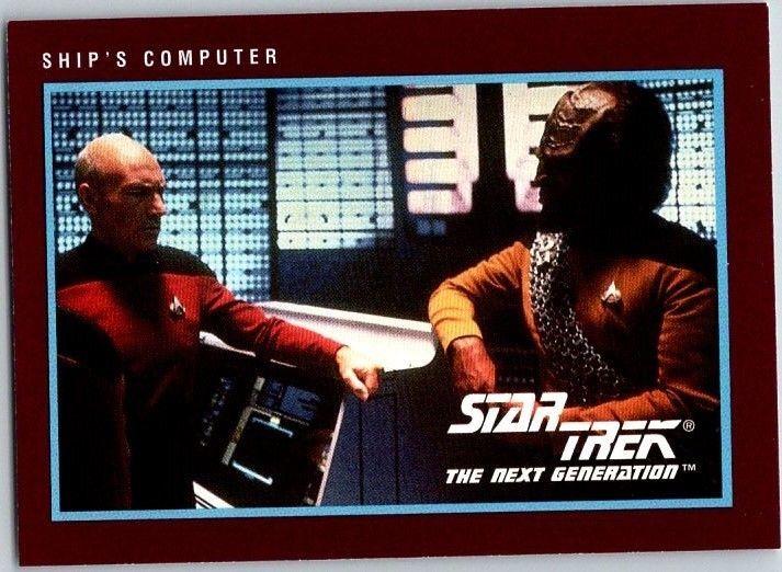 1991 Star Trek 25th Anniversary #256 Ship's Computer