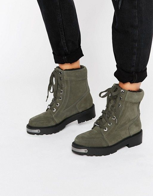 River Island | River Island Chunky Hiker Boots