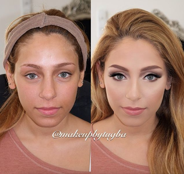 makeup transformations, before and after, contouring, before and after makeup, glamsformation, the power of makeup, beauty transformation, nikkietutorials