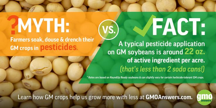Learn how GM crops help us grow more with less at GMOAnswers.com