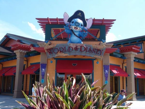 World of Disney, Downtown Disney.  The biggest Disney store ever...I get lost in that place