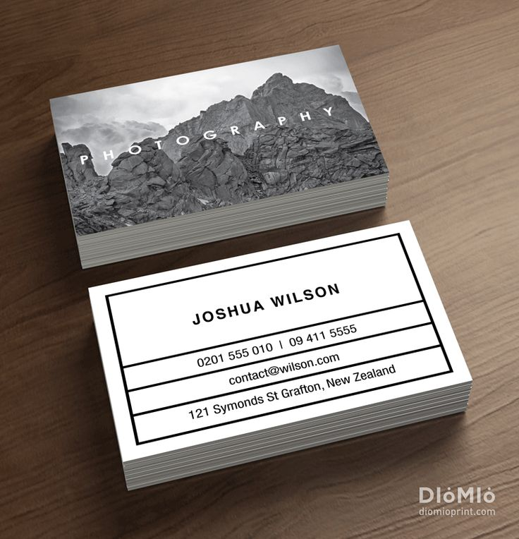 Great Examples Of Photography Business Cards Photos - Business Card ...