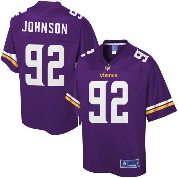 Youth Minnesota Vikings Tom Johnson NFL Pro Line Team Color Jersey - $74.99
