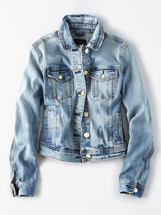 21 Things We're Buying for Spring | People - American Eagle denim jacket