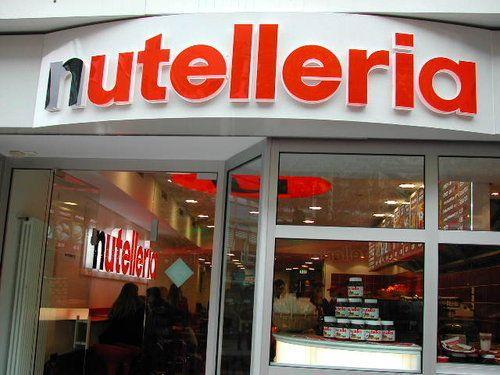 Nutellaria omg - so far only 2 locations reported.  45 Via Independenza, Bologna, Italy and Neue Kräme 23  60311 Frankfurt am Main, Germany.