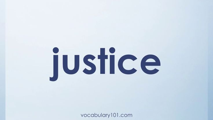 justice Meaning and Example Sentence   Learn English Vocabulary Word with Definition