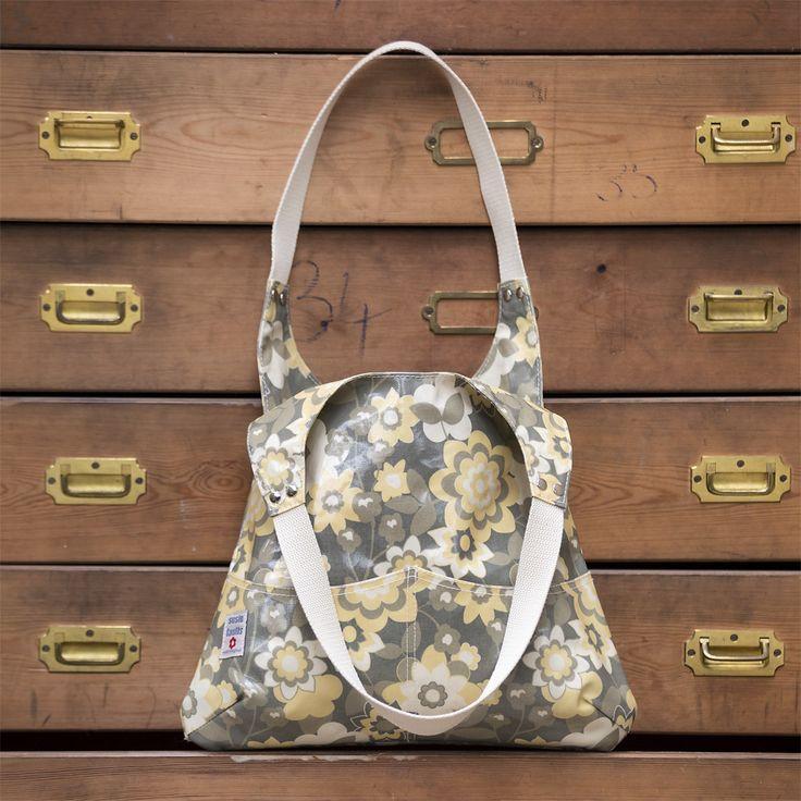 Astrid Shoulder Bag in Ochre! Stunning bag made in UK