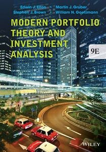 Modern Portfolio Theory and Investment Analysis 9th Edition Solutions Manual Elton Gruber Brown Goetzmann free download sample pdf - Solutions Manual, Answer Keys, Test Bank