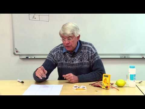 How to Teach The Table of Standard Reduction Potentials - YouTube