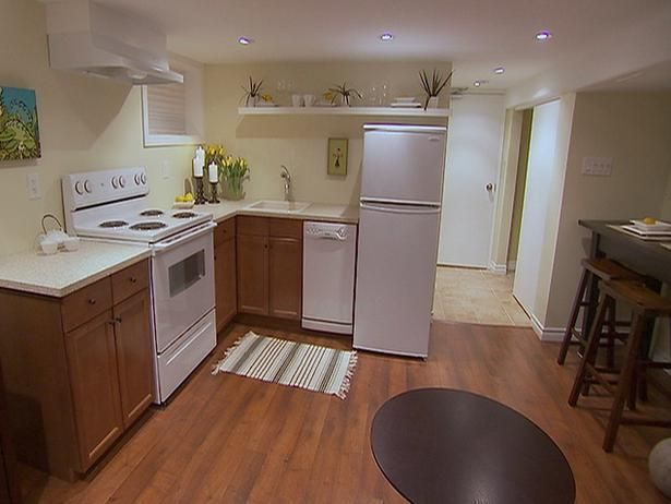 Basement apartment kitchen! | For the Home | Pinterest