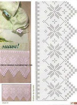 Dos mais sofisticados até os mais simples, os barrados de crochê sempre dão um toque especial em uma peça. Vou criar um novo marcador...