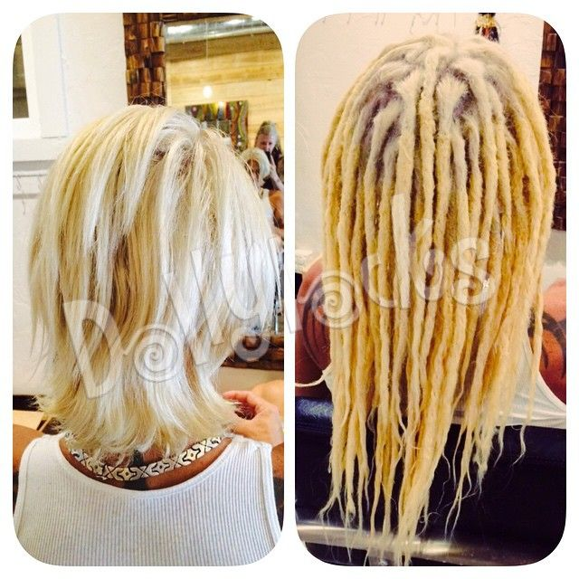 17 best dreadlock maintenance images on pinterest hair before and after human hair dreadlock extensions by alin jenn heather dreadlock pmusecretfo Gallery