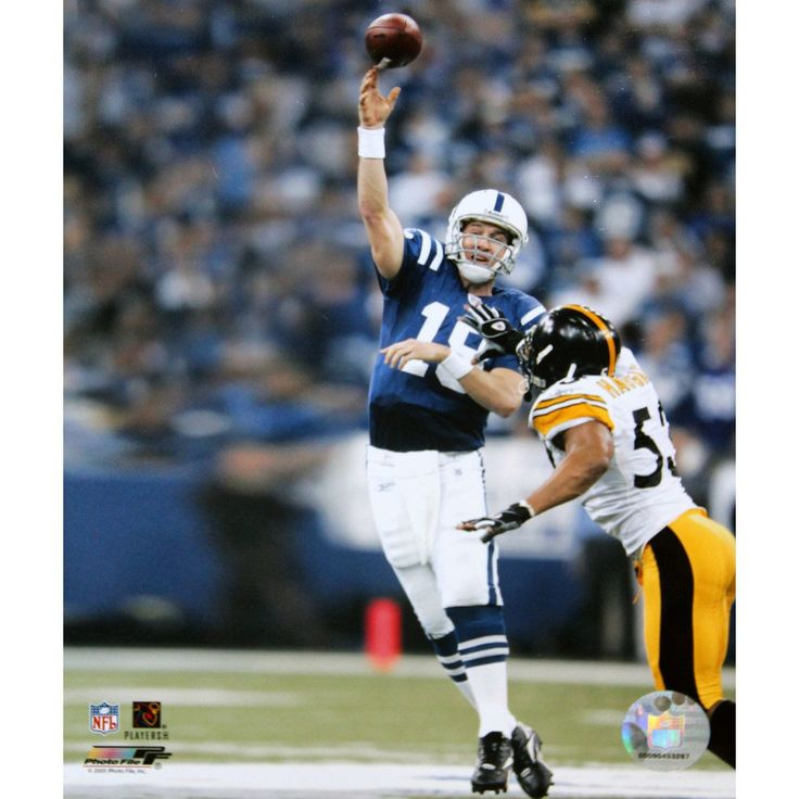 Peyton Manning Throwing vs Steelers 2005 8x10 (PF) - This item is a Peyton Manning Throwing vs Steelers 2005 8x10 (PF). Gifts > Licensed Gifts > Nfl > Denver Broncos. Weight: 1.00