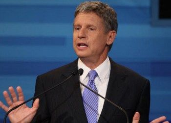 """Gary Johnson Backs CO2 'Fee' To Fight Global Warming  gary_johnsonLibertarian Party presidential nominee and former New Mexico Gov. Gary Johnson said he's no skeptic of man-made global warming and endorsed a """"fee"""" on carbon dioxide emissions.  It's all part of his """"free market"""" approach to global warming, Johnson told the Juneau Empire in an article published Sunday.   """"I do believe that climate change is occurring,"""" Johnson said. """"I do believe that it is man-caused"""" and """"that there can b"""
