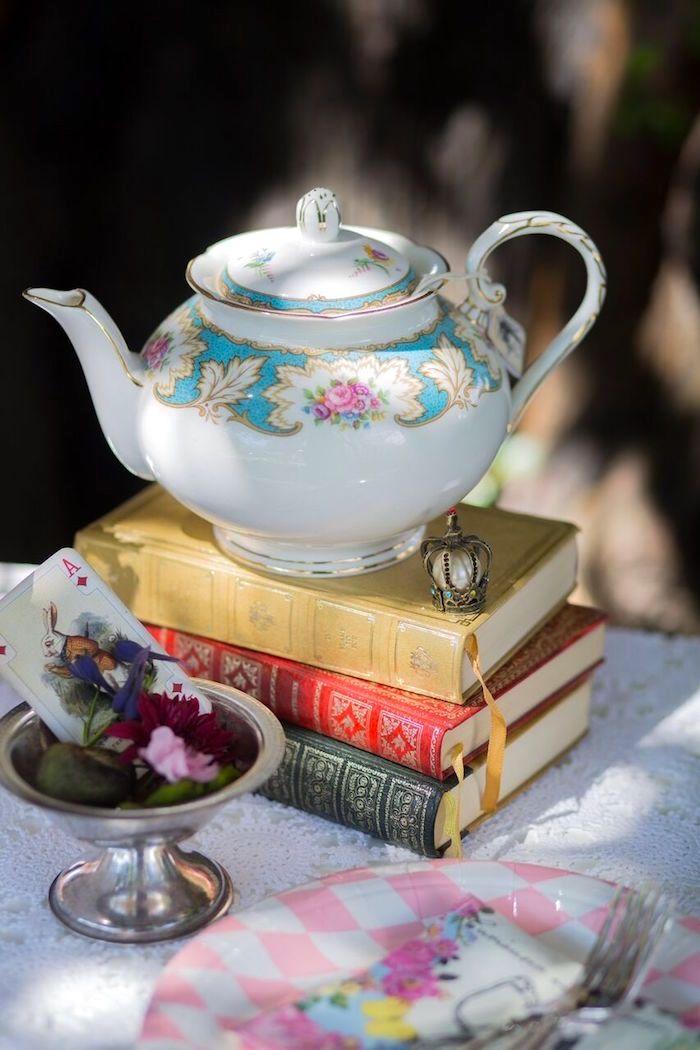 Alice in Wonderland Birthday Tea Party 269