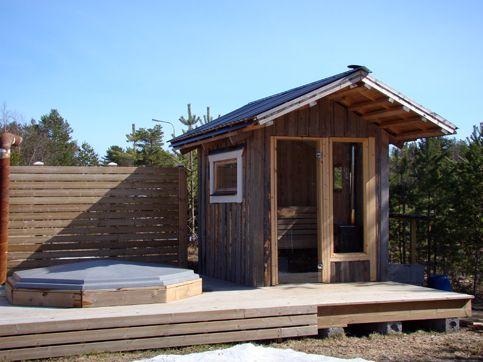 bygga bastu utomhus - Sök på Google