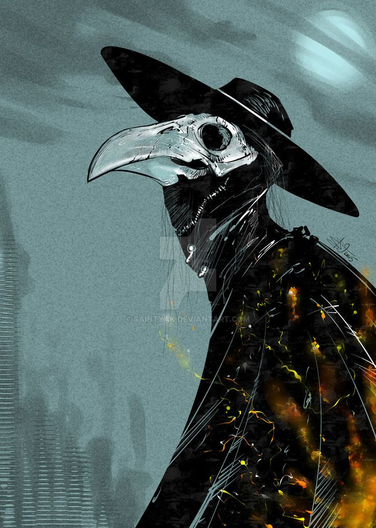 """plague doctor"" 