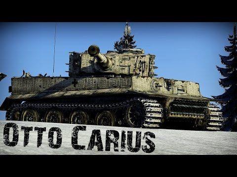 Otto Carius - German Tank Legend | Warthunder Movie - YouTube