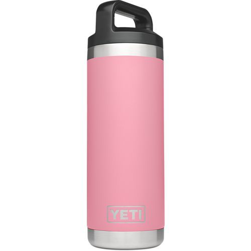 Yeti Rambler 18 oz Bottle Pink - Thermos Cups And Koozies at Academy Sports