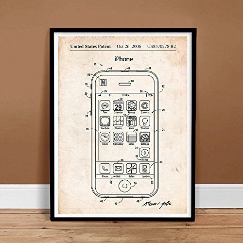 7 best Buy iPhone \ Apple Patent Art Posters @ Steves Poster Store - new blueprint software ios