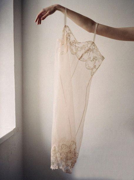 Dream Nightwear Bedroom Wear Sleepwear White Lace Nightgown Slip Dress