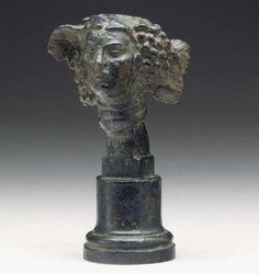 Antoine Bourdelle (1861-1929) - Head of a woman