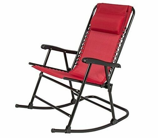 Fabulous Folding Rocking Chair Red Patio Sling Back Lawn Zero Gravity Gmtry Best Dining Table And Chair Ideas Images Gmtryco