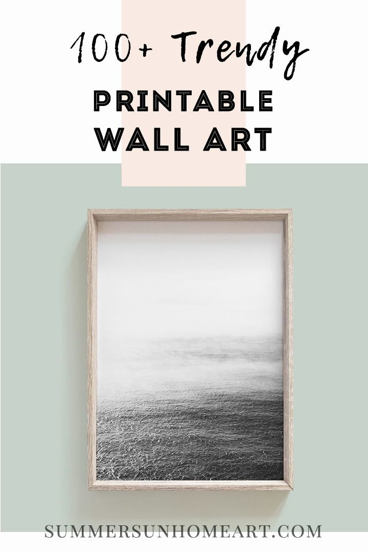 Download 100 Trendy And Affordable Wall Art Designed By Summer Sun Home Art Don T Want To Commit T Modern Art Diy Expensive Wall Art Printable Wall Art