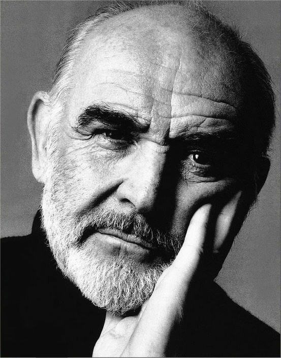 Sean Connery may be old, but this man is still sexy.