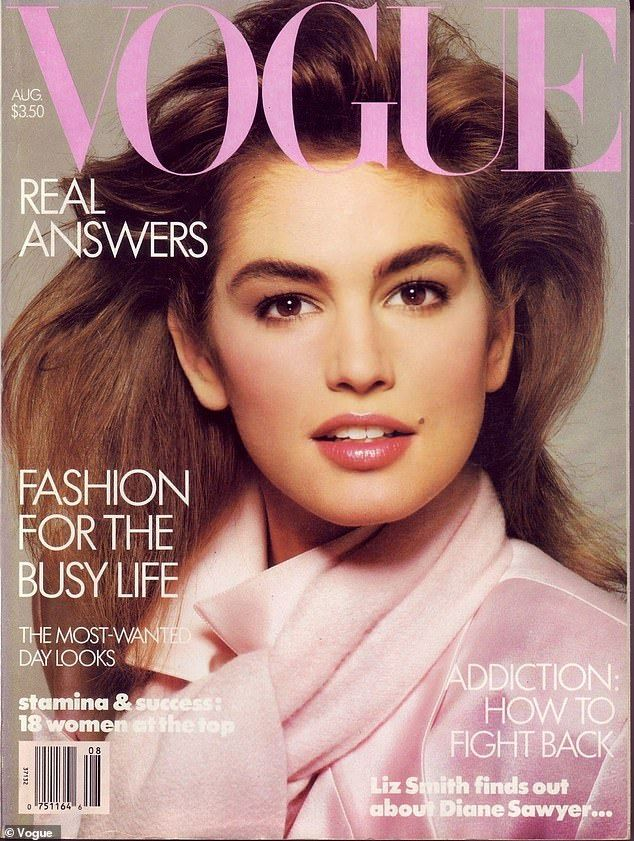 Cindy Crawford was told to remove her famous beauty mark