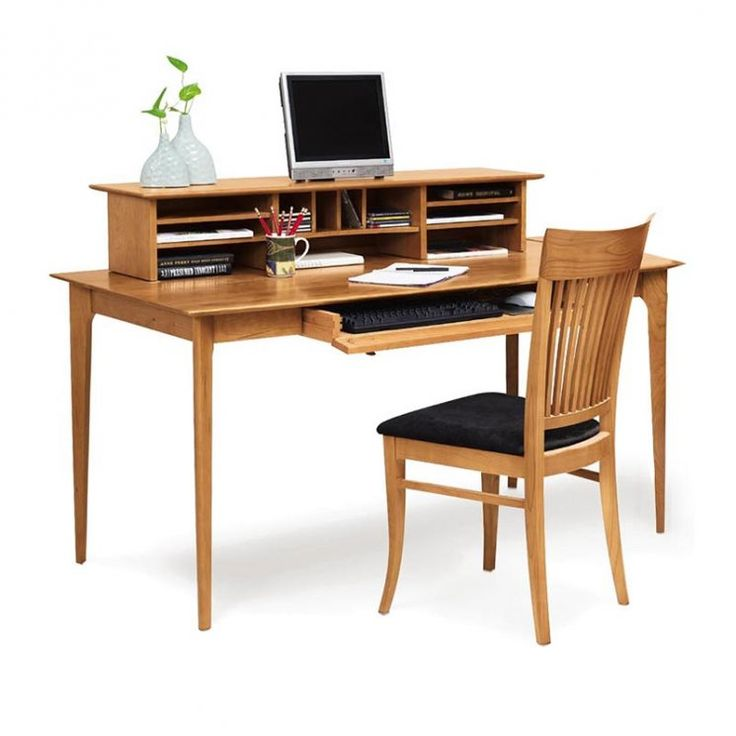 Sarah Large Desk With Organizer Available At Vermont Woods Studios