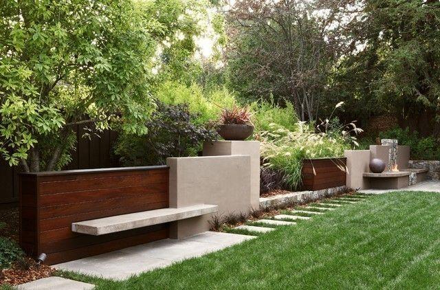 Arterra Landscape Architects: Contemporary Landscape, Gardens Seats, Arterra Llp, Landscape Architects, Landscape Design, Gardens Wall, Contemporary Gardens, San Francisco, Retaining Wall