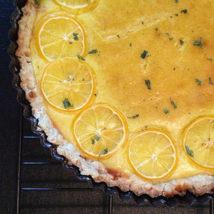 Meyer Lemon Tart Chez Panisse