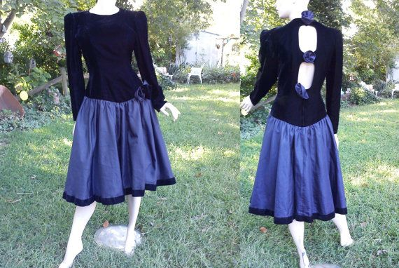 Plus Size 80s Prom Dress