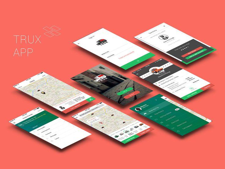 Trux Consumer App on Behance