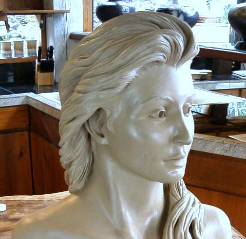 Wet clay sculpture - artist unknown - anyone know who the ...