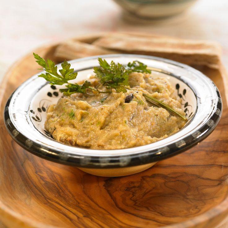 Découvrez la recette Purée d'aubergine minceur sur cuisineactuelle.fr.