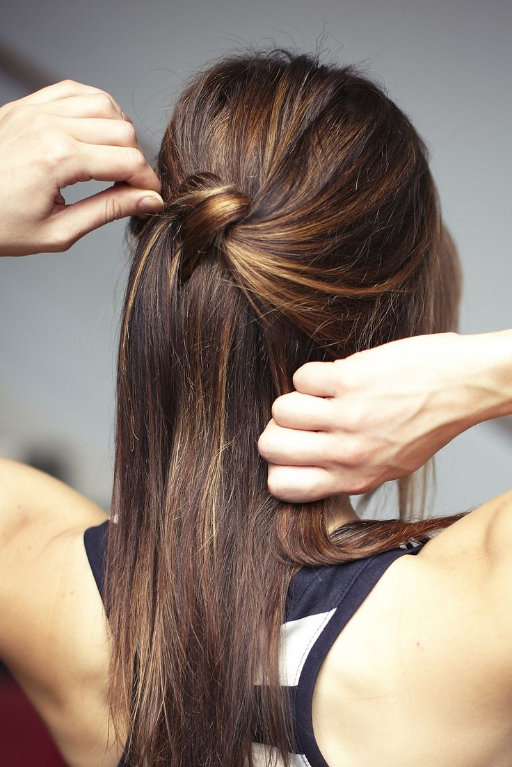 3 chic knotted 'dos for gorgeous summer hair